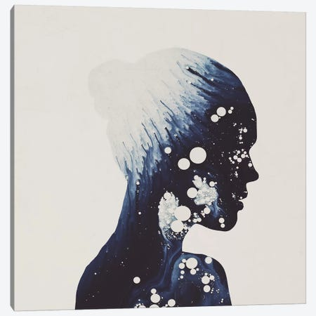 Eve Canvas Print #DTA13} by Dániel Taylor Art Print