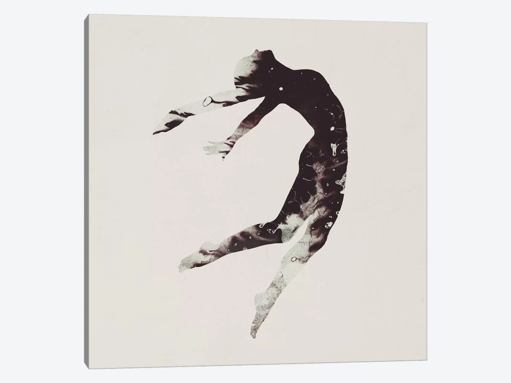 Float Away I by Dániel Taylor 1-piece Canvas Art Print