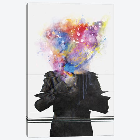Glitch Mob Canvas Print #DTA19} by Dániel Taylor Canvas Art Print