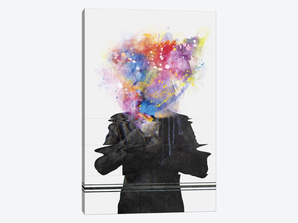 Glitch Mob by Dániel Taylor 1-piece Canvas Art