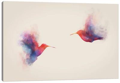 Hummingbirds Canvas Print #DTA22