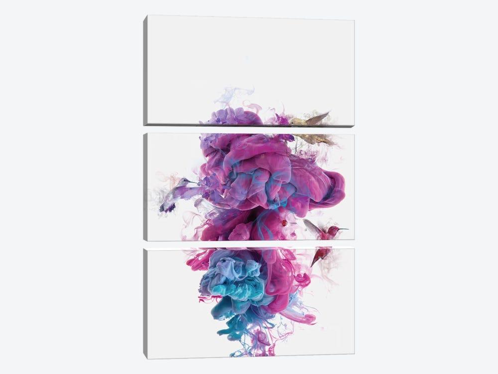 Hummingbirds Ink by Dániel Taylor 3-piece Art Print