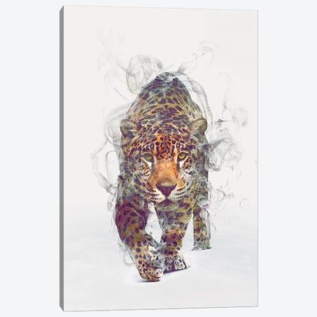 Leopard Canvas Print #DTA28} by Dániel Taylor Canvas Wall Art