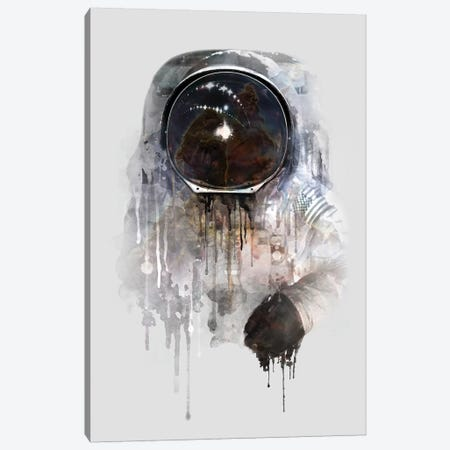 Astronaut I Canvas Print #DTA2} by Dániel Taylor Canvas Art Print