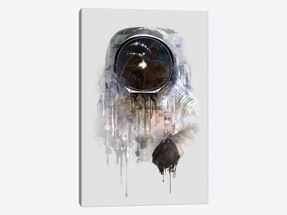 Astronaut I by Dániel Taylor 1-piece Canvas Wall Art