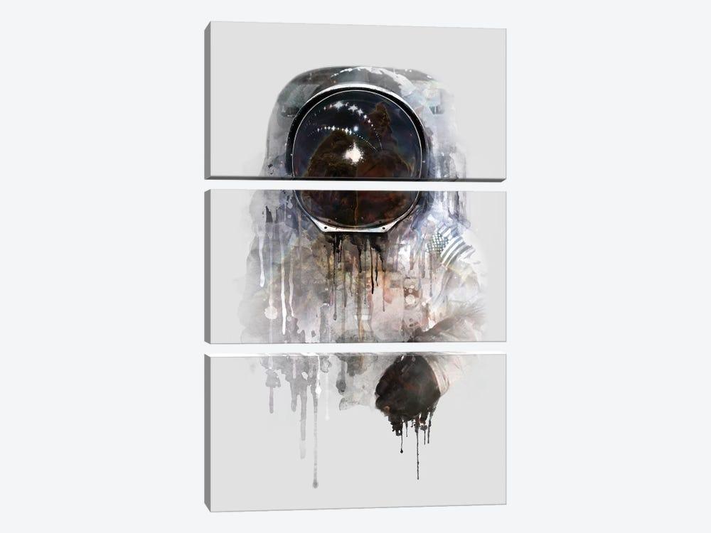 Astronaut I by Dániel Taylor 3-piece Canvas Art