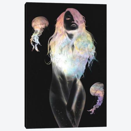Medusa Canvas Print #DTA30} by Dániel Taylor Art Print