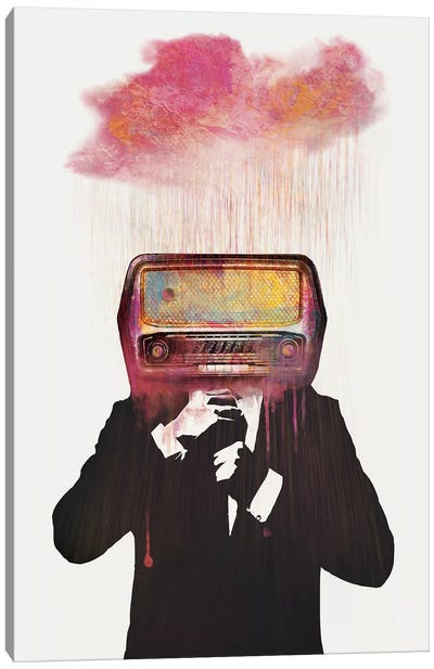 Radiohead Canvas Art Print