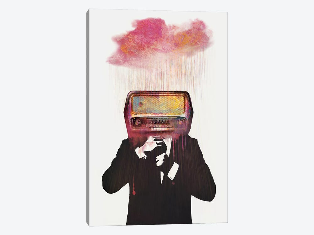 Radiohead by Dániel Taylor 1-piece Canvas Print