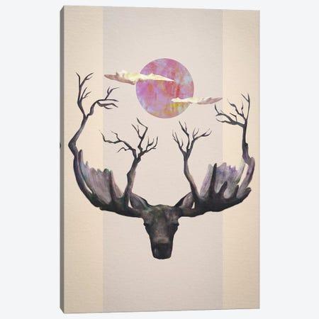 Reborn Canvas Print #DTA37} by Dániel Taylor Canvas Art
