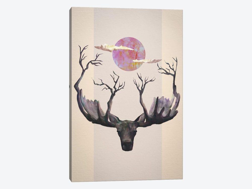Reborn by Dániel Taylor 1-piece Canvas Artwork