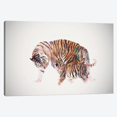 Stay With Me Canvas Print #DTA41} by Dániel Taylor Canvas Artwork