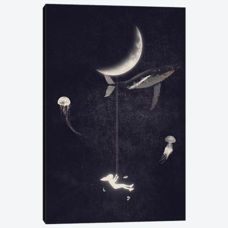 Swing Paradise Canvas Print #DTA42} by Dániel Taylor Canvas Artwork