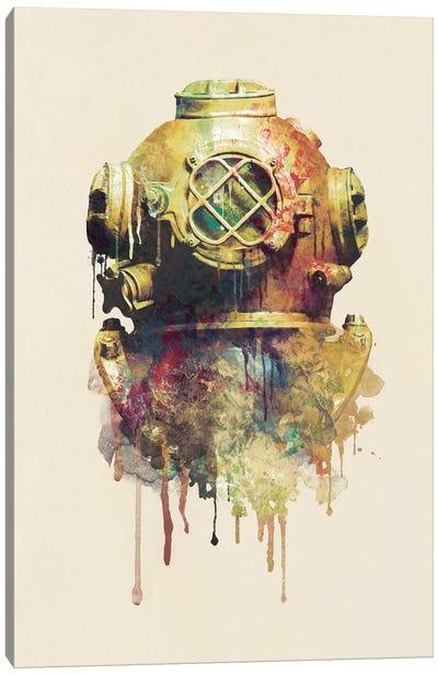 The Diver Canvas Print #DTA44