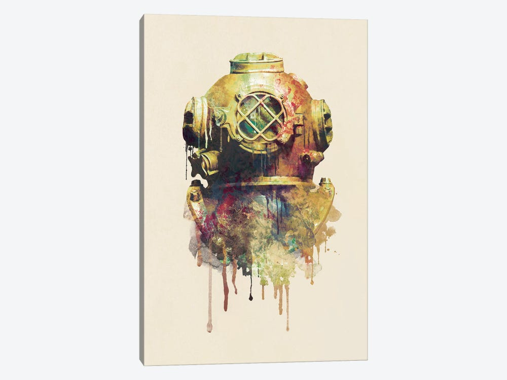 The Diver by Dániel Taylor 1-piece Canvas Wall Art
