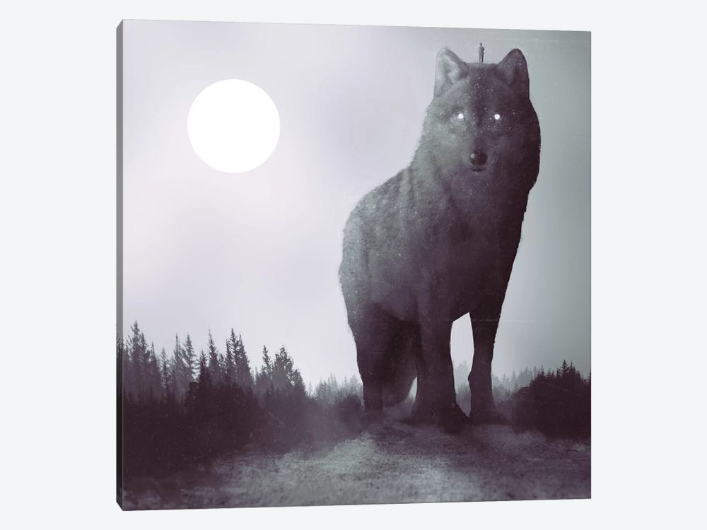 The Hunter by Dániel Taylor 1-piece Canvas Art
