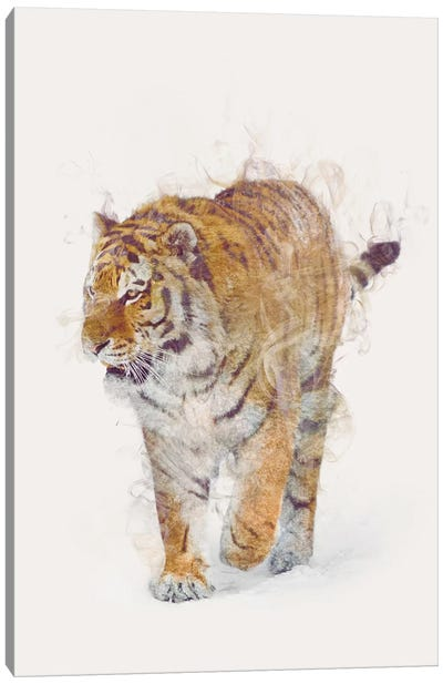 The Tiger Canvas Art Print