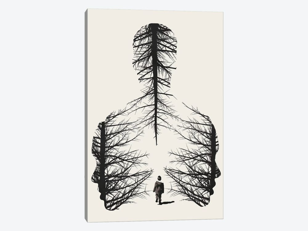 The Walk by Dániel Taylor 1-piece Art Print