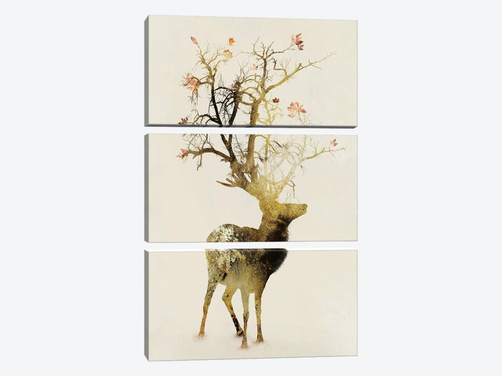 Autumn by Dániel Taylor 3-piece Canvas Art