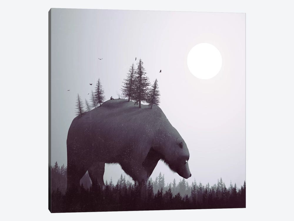 The Wanderer by Dániel Taylor 1-piece Canvas Art Print