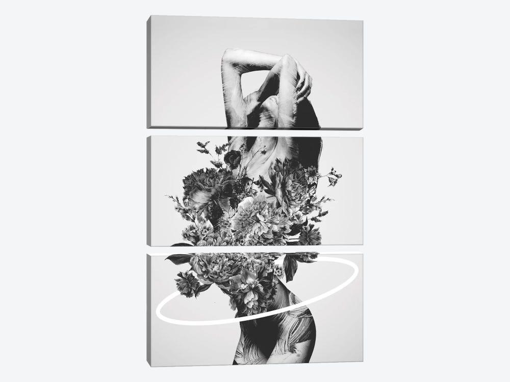 Be Slowly by Dániel Taylor 3-piece Canvas Print