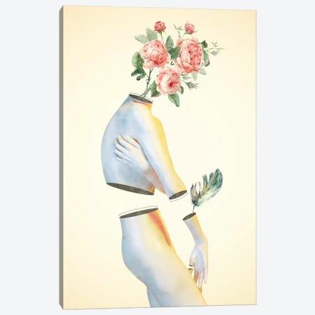 Feel Too Little Canvas Print #DTA56} by Dániel Taylor Canvas Art