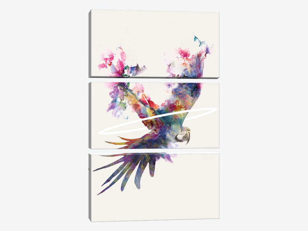 Fly Away II 3-piece Canvas Artwork