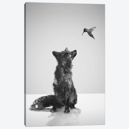 Little Friend Canvas Print #DTA63} by Dániel Taylor Canvas Art