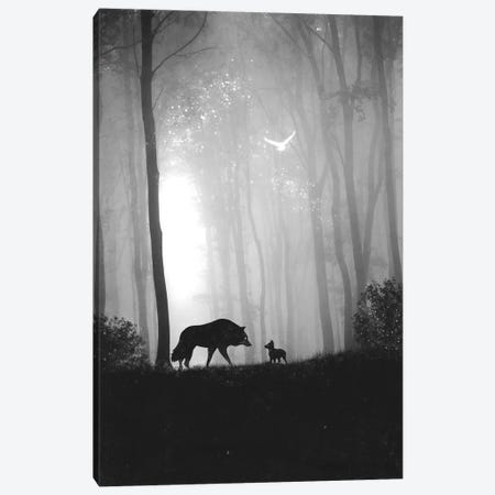 Reunited Canvas Print #DTA67} by Dániel Taylor Canvas Print