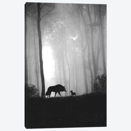 Reunited Canvas Print #DTA67} by Dániel Taylor Canvas Print