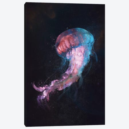 Space Flow Canvas Print #DTA68} by Dániel Taylor Canvas Artwork