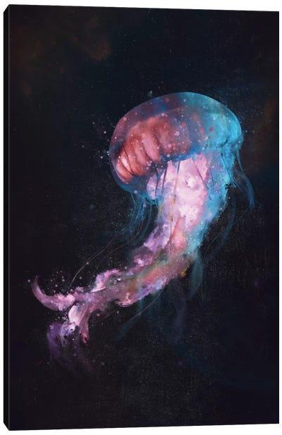 Space Flow Canvas Art Print