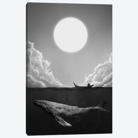 The Traveler Canvas Print #DTA69} by Dániel Taylor Canvas Wall Art