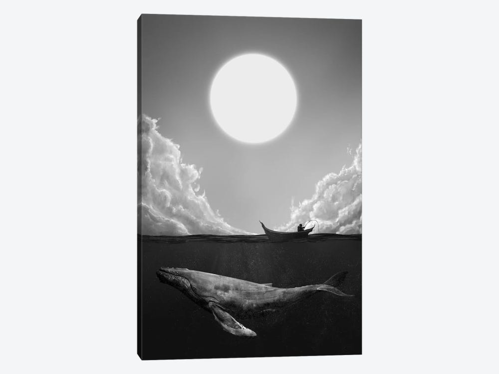The Traveler by Dániel Taylor 1-piece Canvas Print