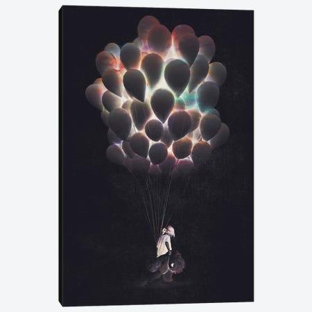 Balloons Canvas Print #DTA82} by Dániel Taylor Canvas Wall Art