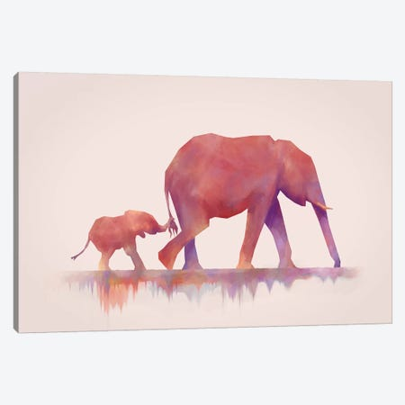 Colors To Life Canvas Print #DTA9} by Dániel Taylor Canvas Art Print