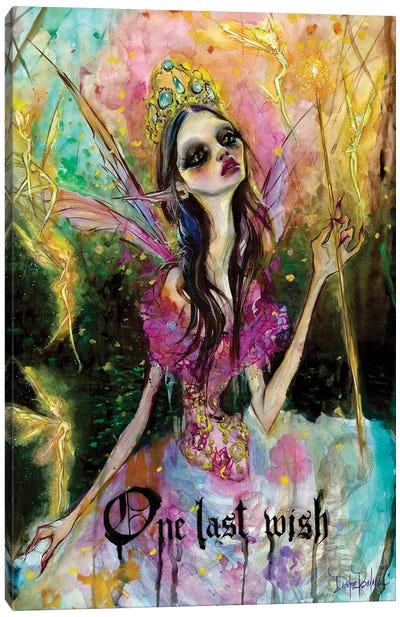 One Last Wish Canvas Art Print