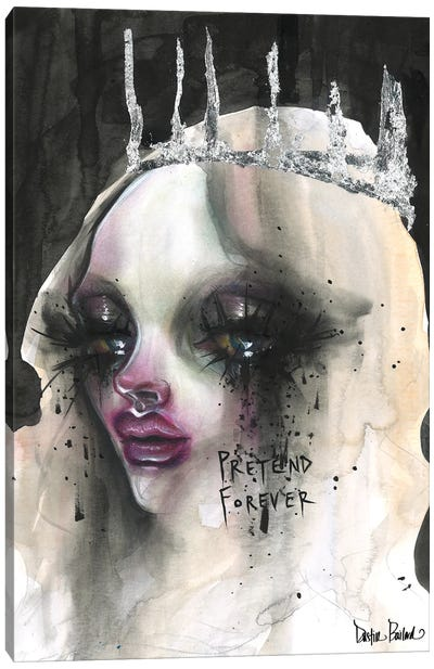 Pretend Forever Canvas Art Print