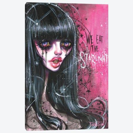 Vika Starlight Vampire Canvas Print #DTB1} by Dustin Bailard Canvas Art