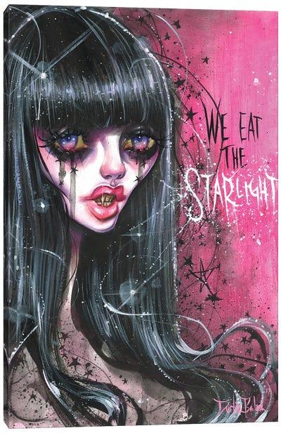 Vika Starlight Vampire Canvas Art Print