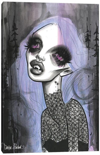 Forever Lilac Canvas Art Print