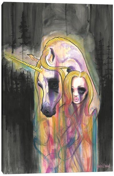 Finding Rainbows Canvas Art Print