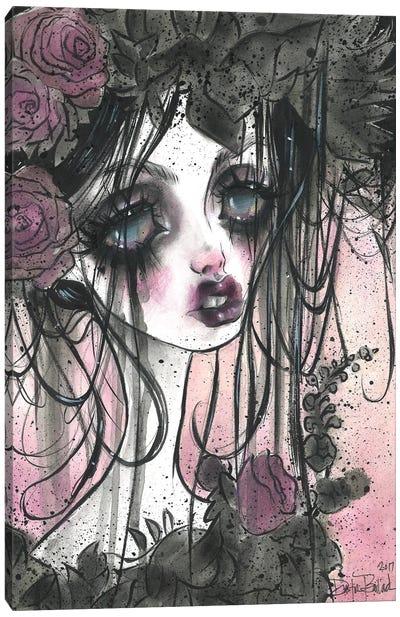 Dark Gardens Canvas Art Print