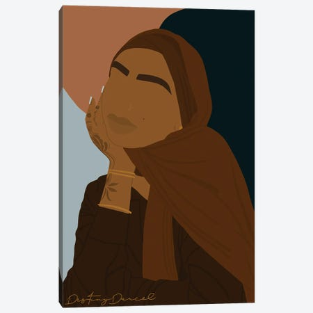 Black Girls All Ways Canvas Print #DTD13} by Destiny Darcel Canvas Wall Art