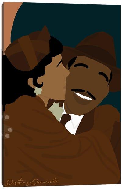 Coretta Luther King Canvas Art Print