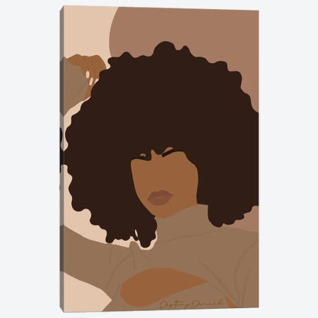 Afro-Centric Canvas Print #DTD19} by Destiny Darcel Canvas Wall Art