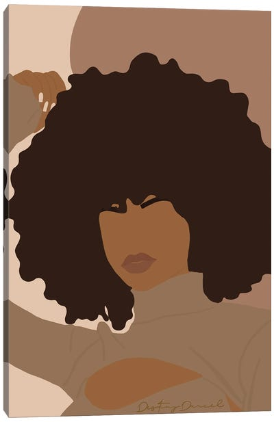 Afro-Centric Canvas Art Print