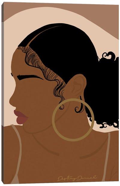 Baby Hair Canvas Art Print