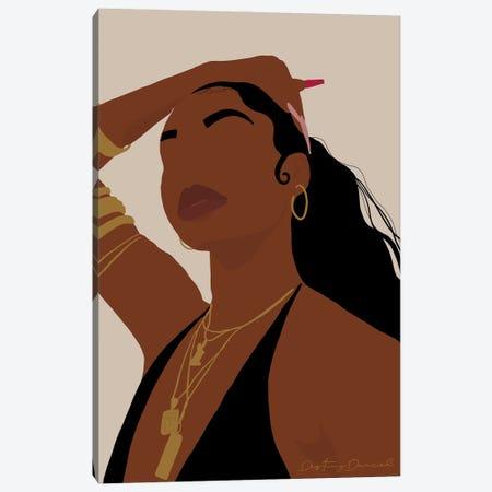 Color Of Confidence Canvas Print #DTD28} by Destiny Darcel Canvas Art Print