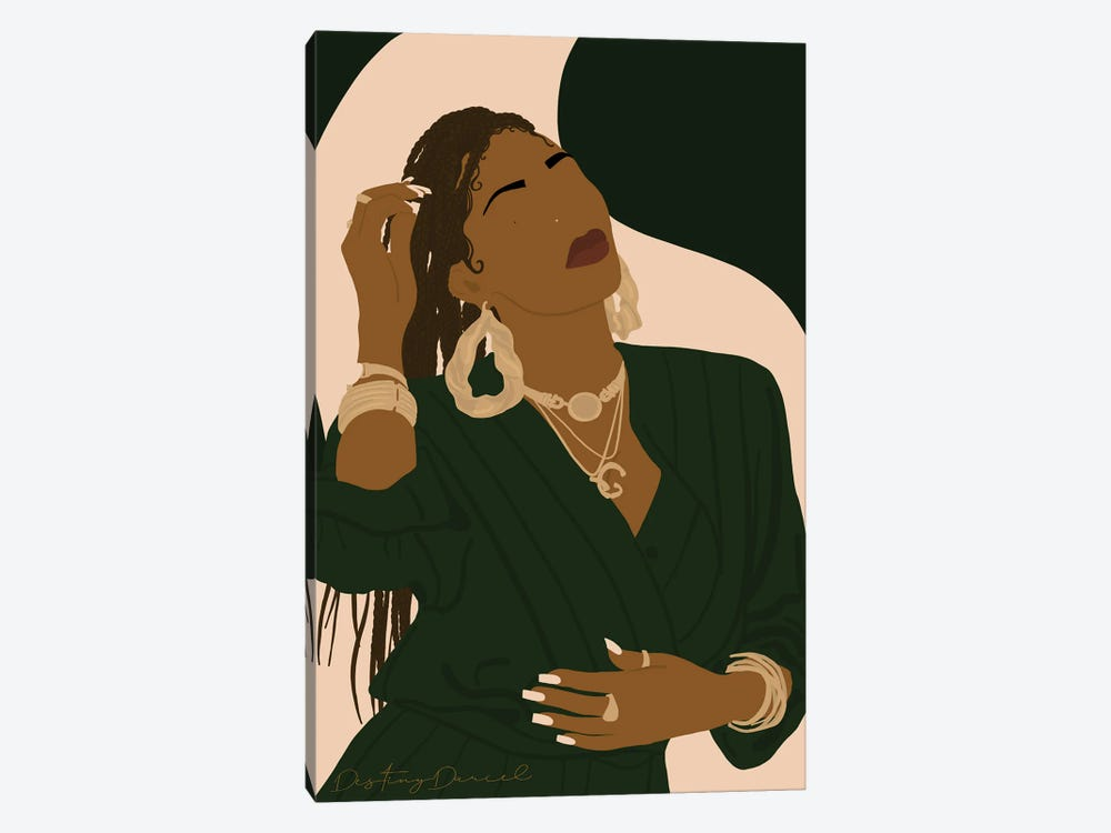 Golden Bird by Destiny Darcel 1-piece Canvas Art Print